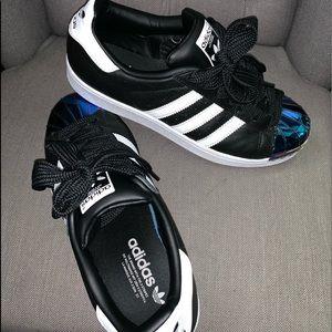 Steel toe Adidas superstar sneaker